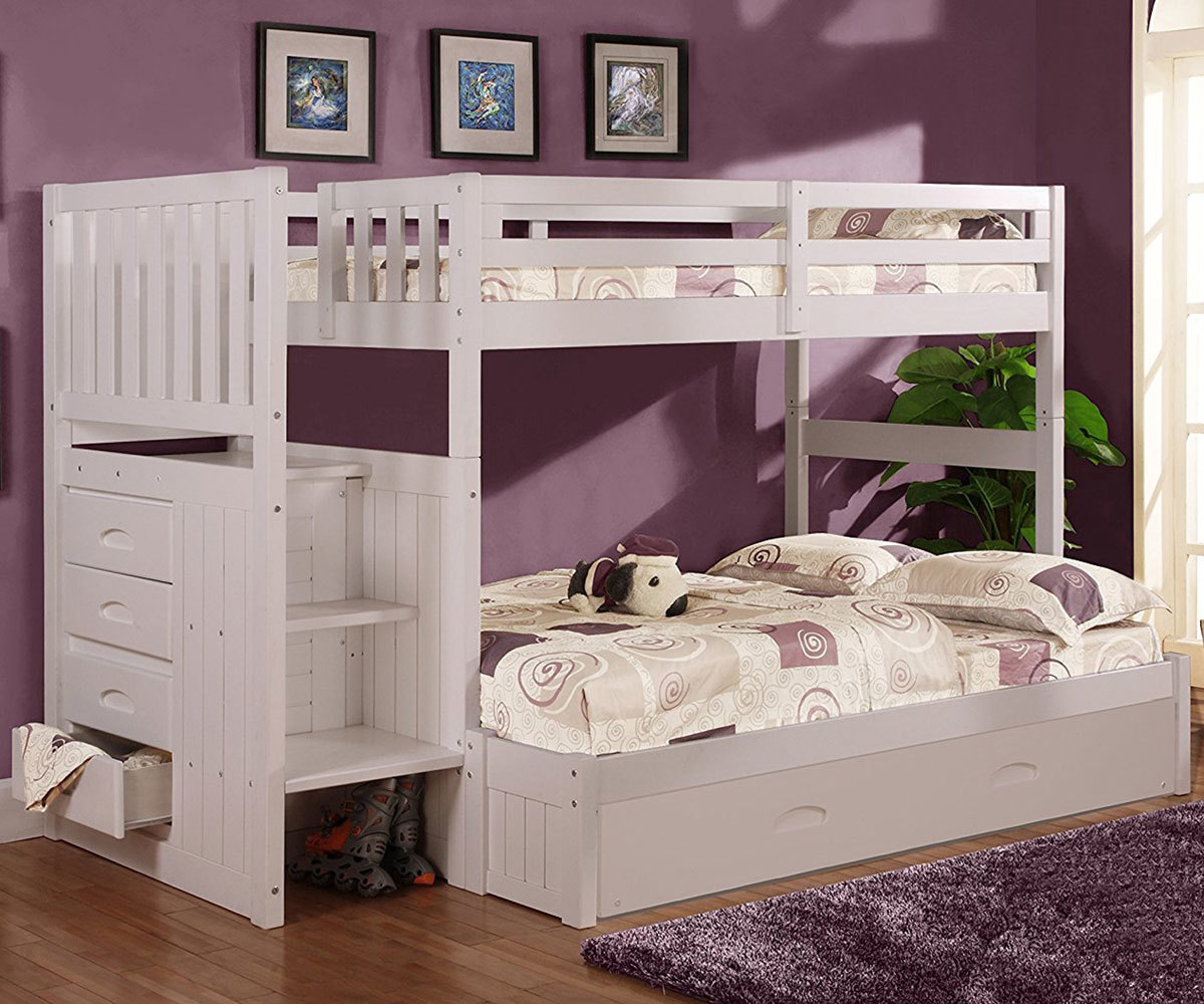 Twin Over Full Bunk Beds For Your Kids Room Kids Furniture Warehouse