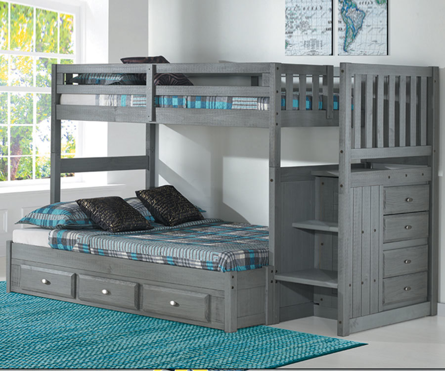 Spotlight On Bunk Beds With Stairs Kids Furniture Warehouse